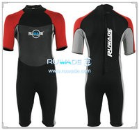 neoprene short sleeve shorty wetsuits -116