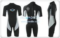 Shorty surfing wetsuit with back zipper -118-1