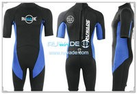 Shorty surfing wetsuit with back zipper -118-2