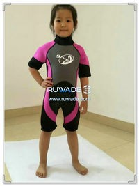 Shorty surfing wetsuit with back zipper -119-2