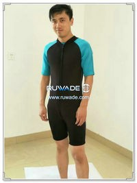 Neoprene short sleeve shorty wetsuits -126