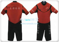 Shorty windsurfing wetsuit with chest zipper -004