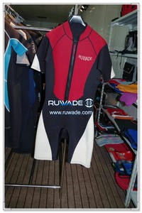 Shorty windsurfing wetsuit with front zipper -004-1
