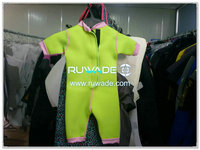 Children kids girls shorty wetsuit -003