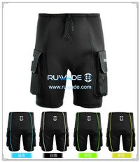 Neoprene wetsuit shorts pants with pockets -003